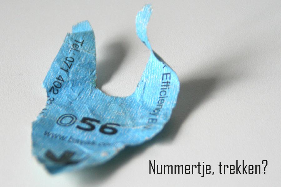 2007 - Nummertje trekken ? (ansichtkaart)