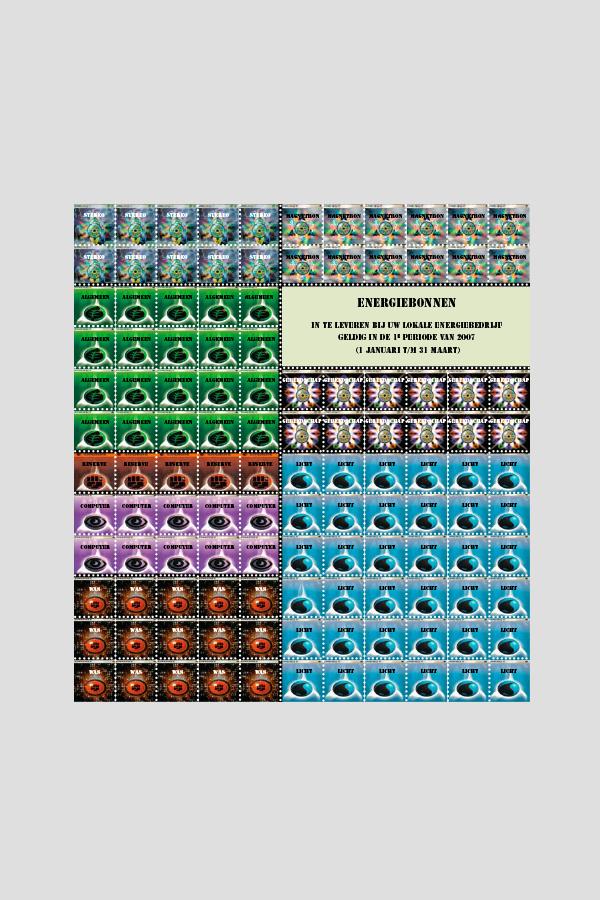"""2006 - VPRO Cover 1 ontwerpwedstrijd (""""Nieuw Energie"""")"""