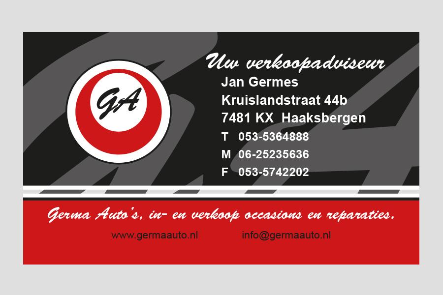 2007 - Germa Auto's visitekaartje