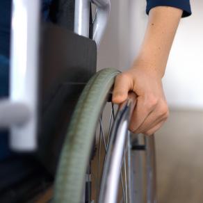 Rollstuhltraining