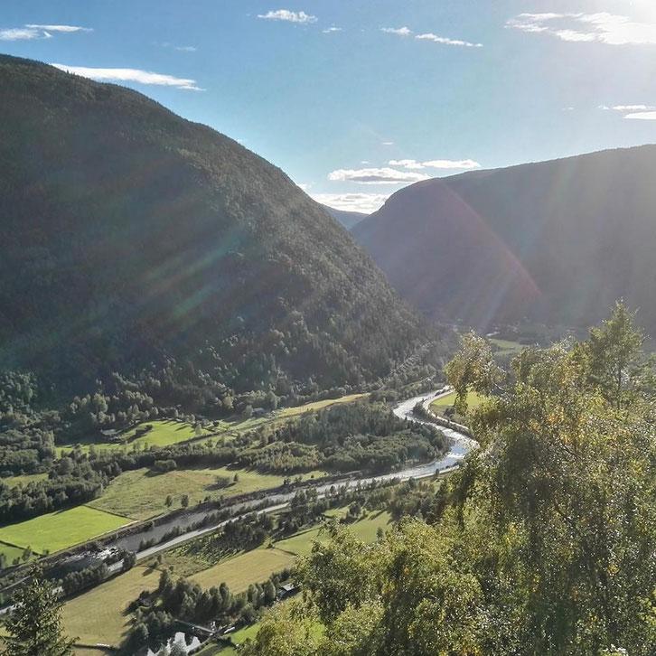 Vestfjordalen mot Rjukan