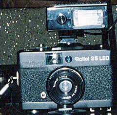 Rollei 35 LED +ストロボ