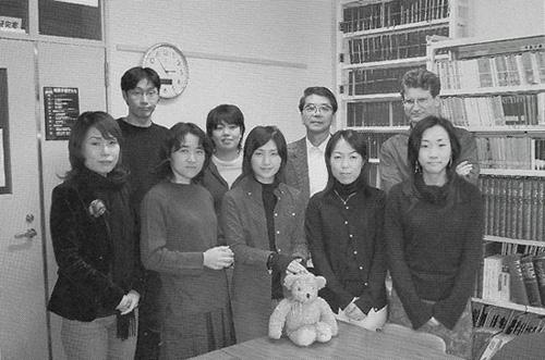 文学部・文学研究科同窓会誌『あおぎりNewsletter』第3号(2006年)15ページよりコピー