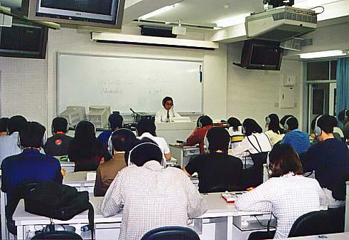 1998年度のドイツ語総合コース(2年生)