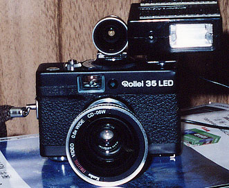 Rollei 35 LED +ファインダー