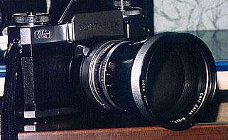 Contaflex Super B +望遠レンズ