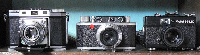 中央が Pax 35(大和光機)