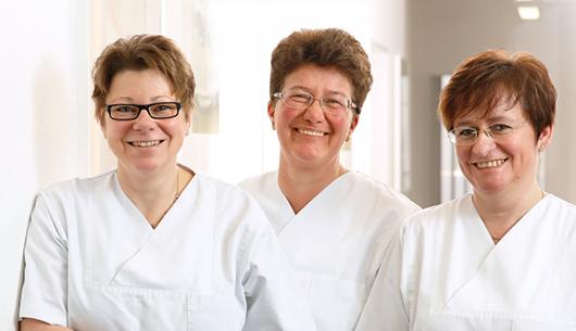 Die medizinischen Fachangestellten unserer Praxis