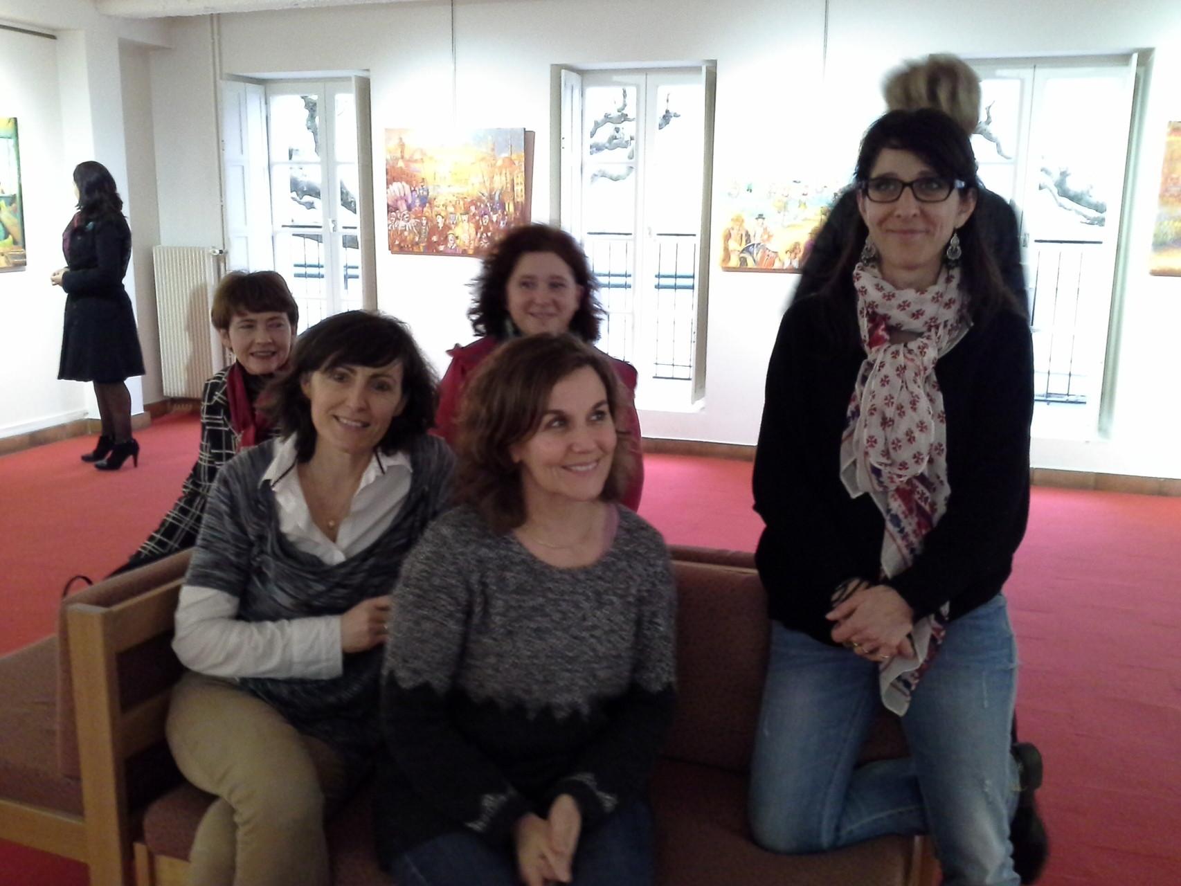 L'équipe du musée et de la mairie de Marmande. Sagacité, efficacité... merci !
