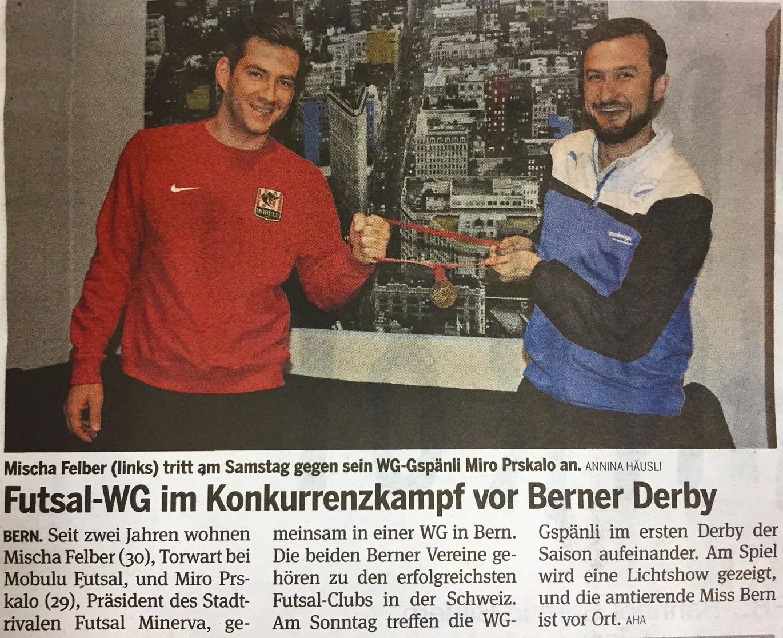 20 Minuten (Bern) - 20. November 2015