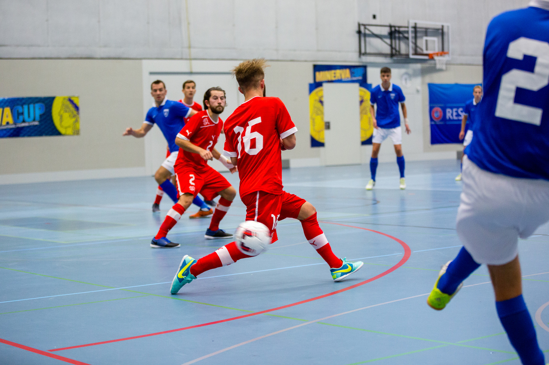 MinervaCup 2015 - Swiss Futsal Nationalteam VS. Futsal Dinamo