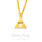zelda triforce kette necklace geschenk fabulous funky game nerd gamer