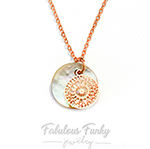 perlmutt kette rose gold fabulous funky schmuck jewelry fashion kette boho bohemian gypsy shell seashell perlmut shine