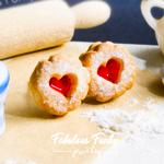 marmeladenkeks keks weihnachten gebäck schmuck, fimo, polymer clay, handmade, ohrstecker, fabulous funky, schmuck