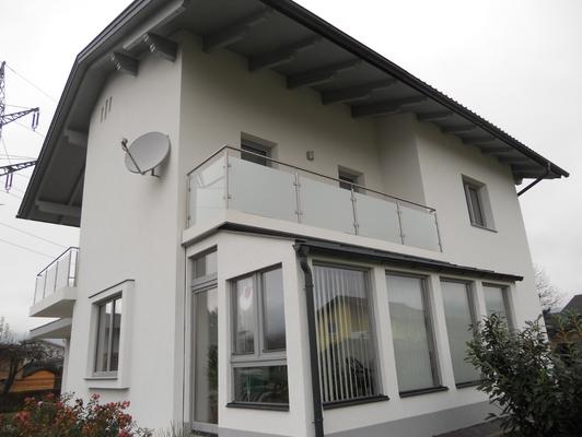 Balkon von der Edelstahl Schlosserei Eduard Holzbauer