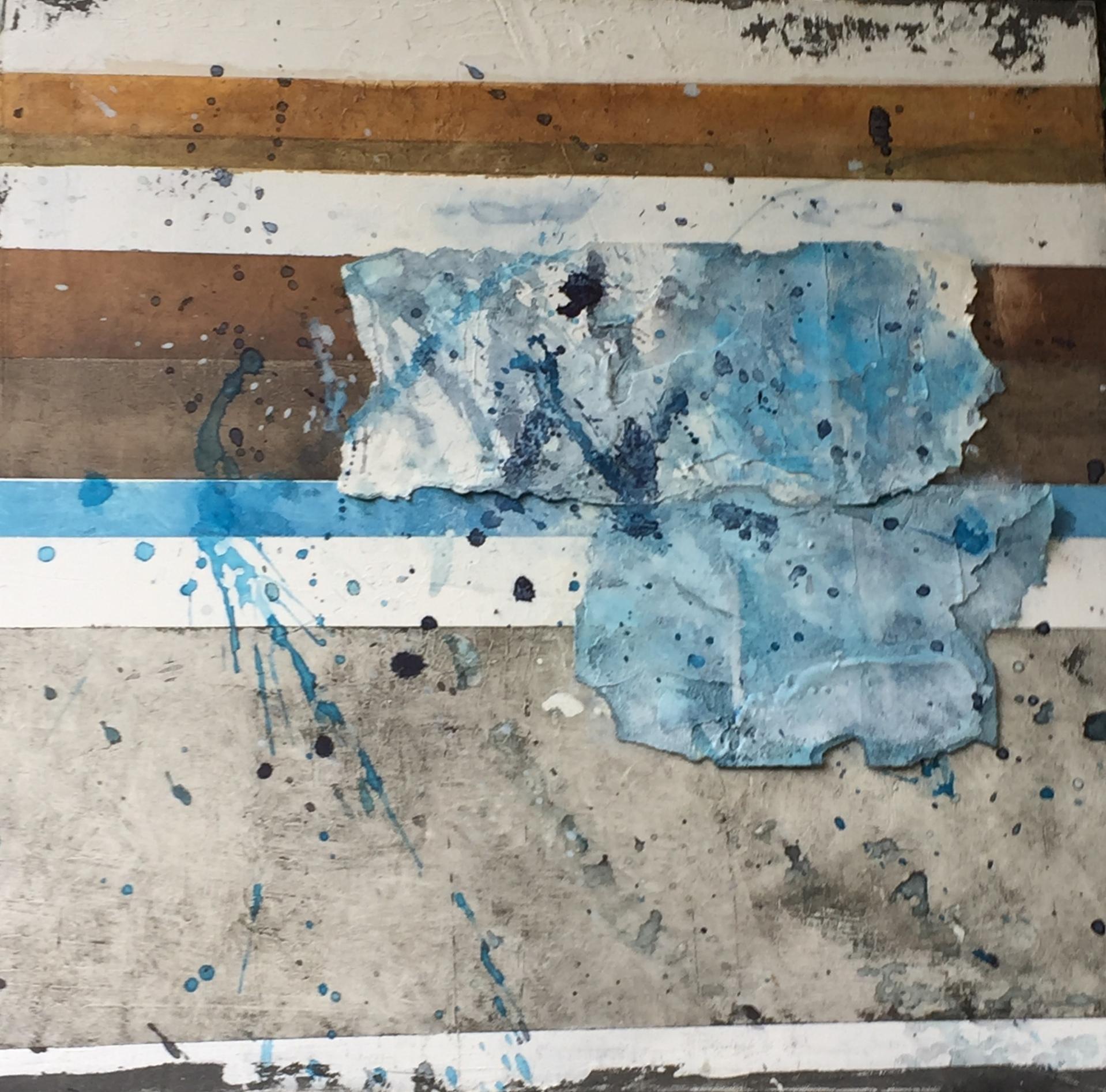 Hidden Lines, 50cm x 50cm x 4cm