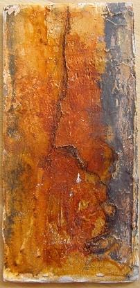 25cm x 12cm, Klappkarte, Materialmix