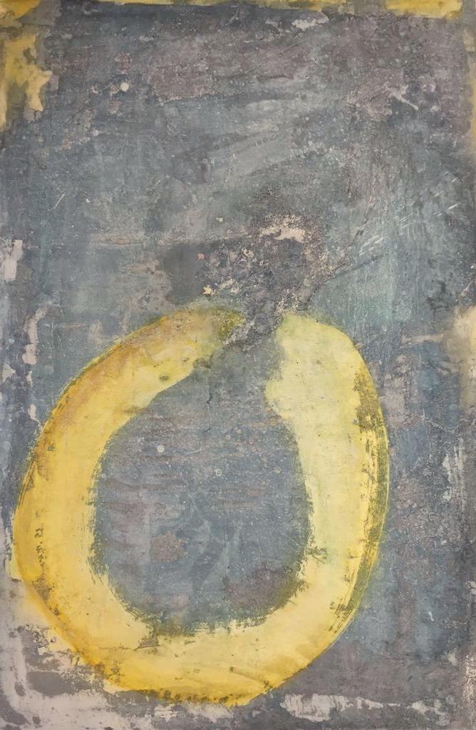 Ring oder nicht Ring, 80cm x 1,20, Steinzeichen