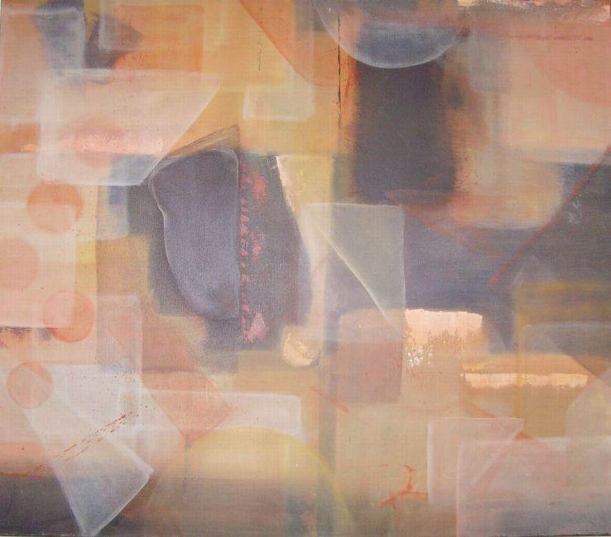 80cm x 70cm, Acryl grafisch aufgebaut auf Leinwand