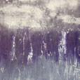 Lila Sumpfgras, 40cm x 30cm, Acryl auf Leinwand