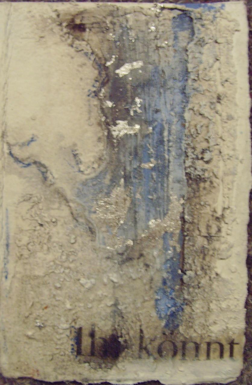 Klappkarte, 10cm x 15cm, Materialmix