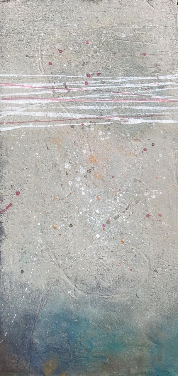 Linien, 30cm x 60cm, Malkarton, Mixed Media