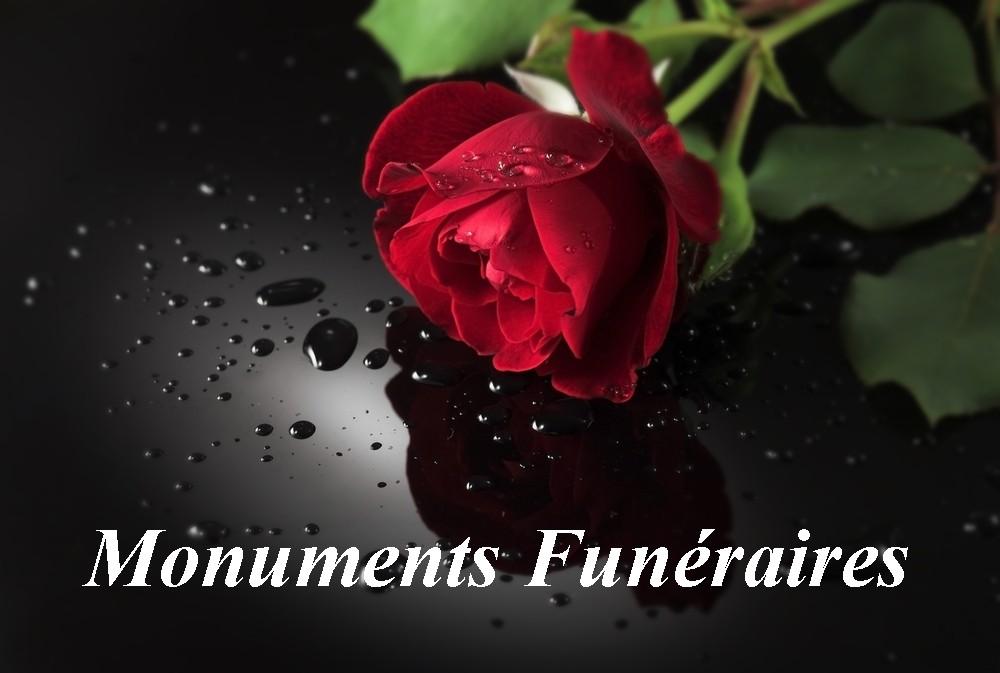 """Monuments funéraires : granit noir """"Nero assoluto"""""""