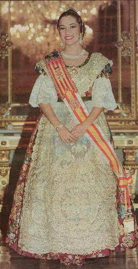 La seua exaltació com Fallera Major de València