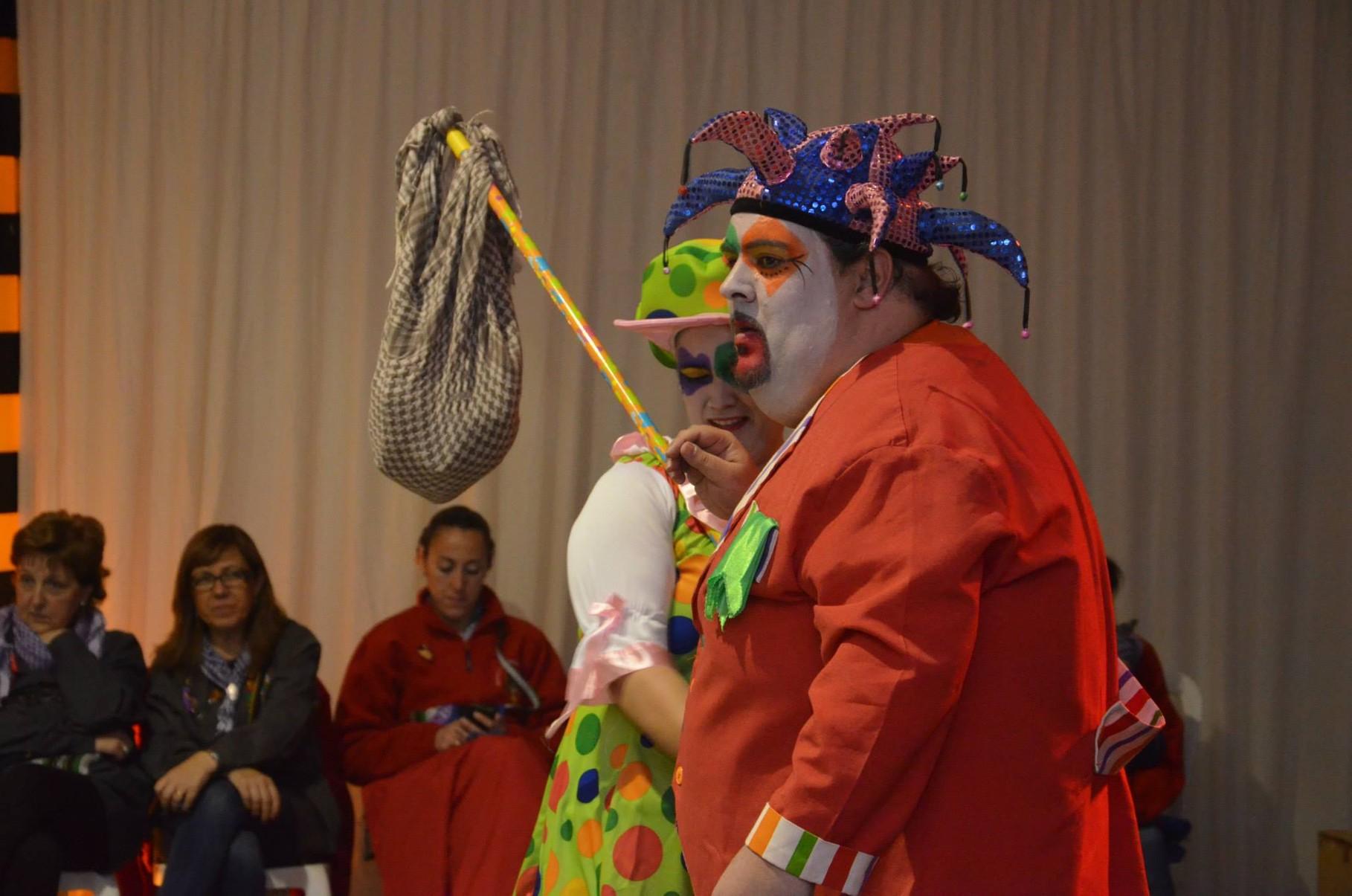 16-03-2014. Merienda infantil. Espectáculo. Carlota y Pelotín.