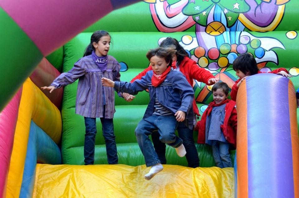 15 de marzo de 2013. Parque infantil.