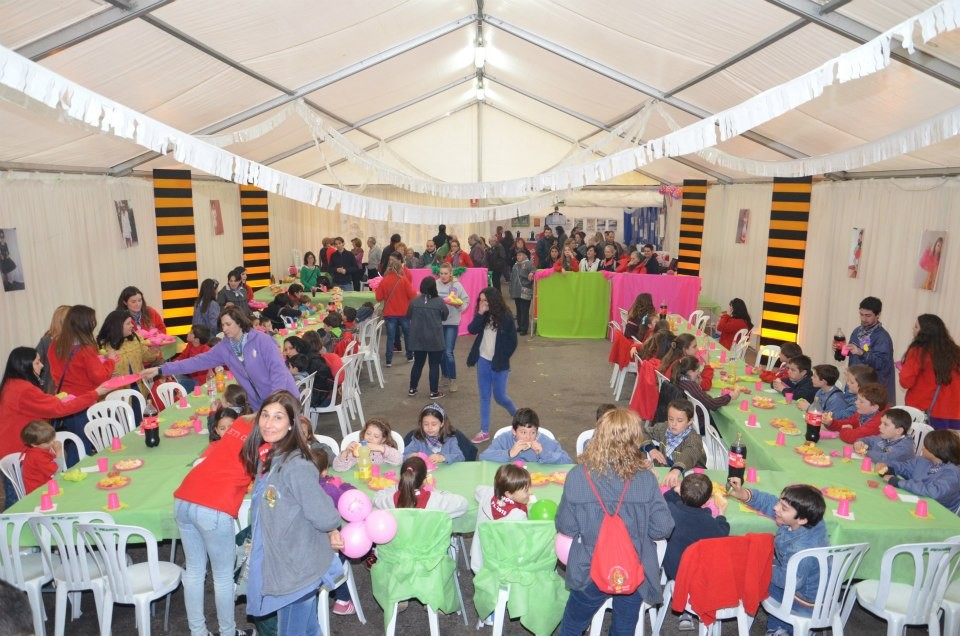 17 de marzo de 2013. Merienda infantil ofrecida por Alba, FMI2013.