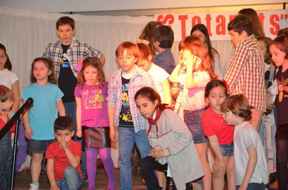17 de marzo de 2013. Merienda infantil. Fin de fiesta.