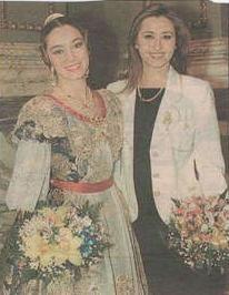 Amb la Fallera Major Del 1996