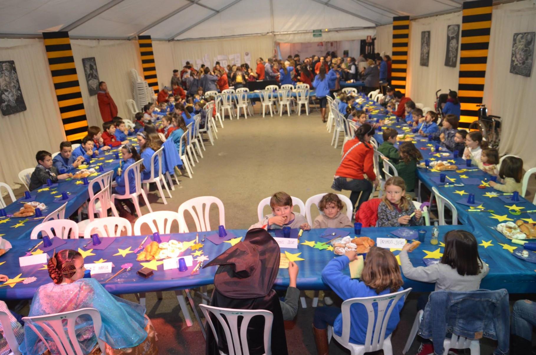 16-03-2014. Merienda infantil. Ofrecida por José Burgos (PI).