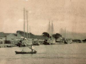 明治初期の宮腰港