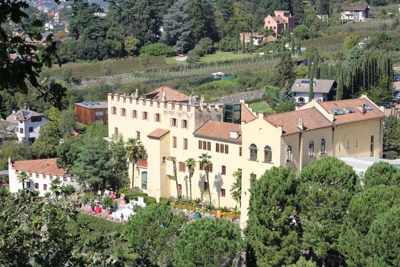 Besuch der Gärten von Schloss Trautmannsdorf in Meran