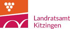 Das Logo des Landratsamt Kitzingen.