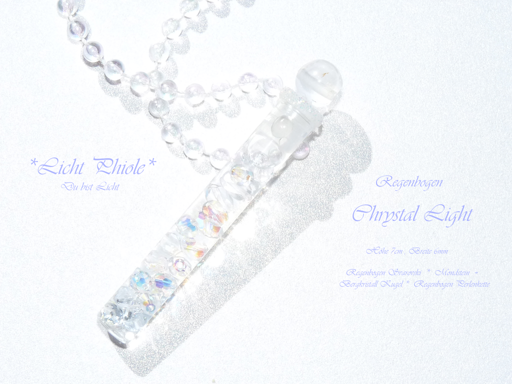*Crystal*Light* Phiole