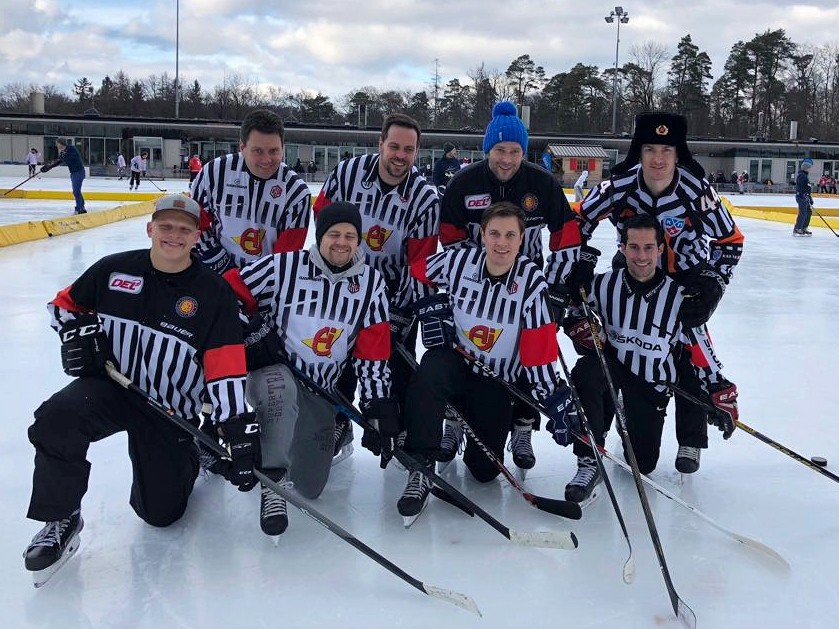 Pond Hockey Turnier Dolder, Februar 2018