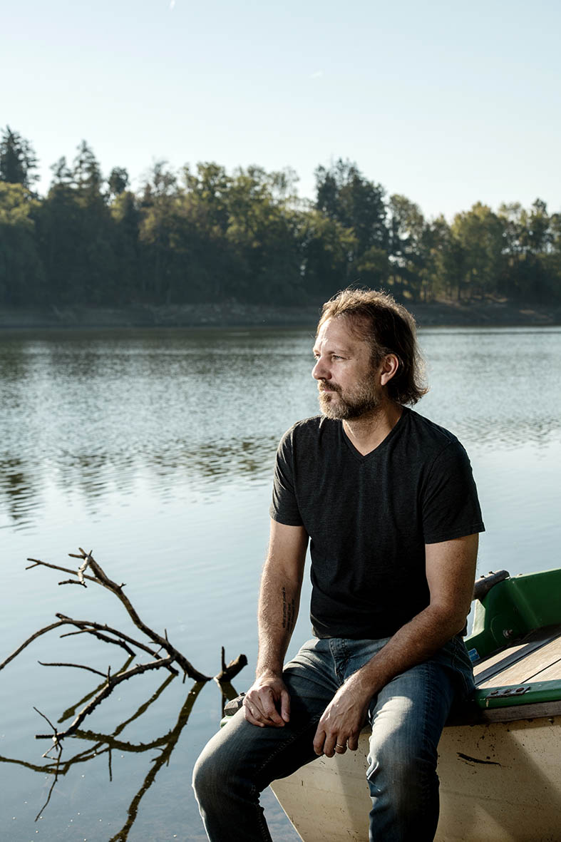 Michael Farris Smith par Christophe Chammartin. Au bord du lac de Bret, 29 septembre 2018