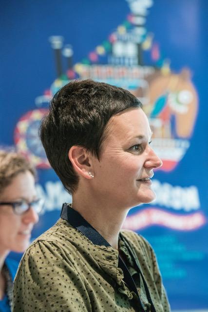 Marie Musy, directrice du festival. Photo Christophe Chammartin / www.ceuxdici.ch