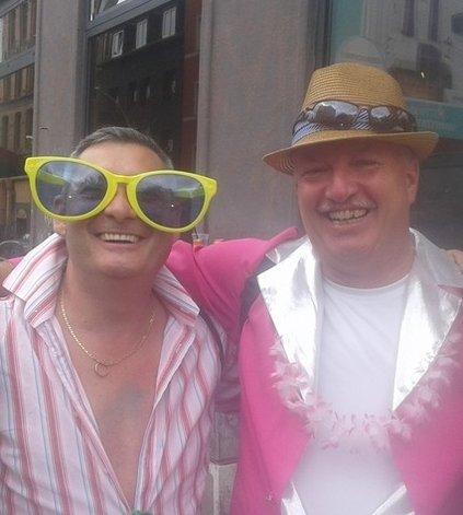 Partygänger auf dem Schlagermove 2018