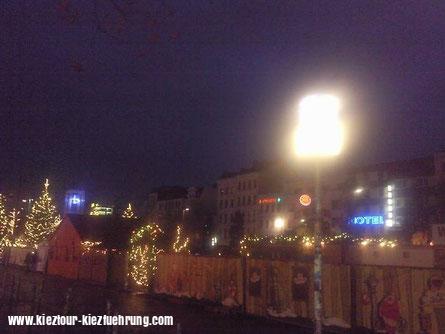 Weihnachtsmarkt 2015 Spielbudenplatz Hamburg St. Pauli
