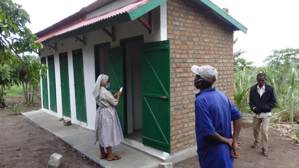 Neues Patient:innenhaus im Tuberkulose-Zentrum St. Rock fertiggestellt