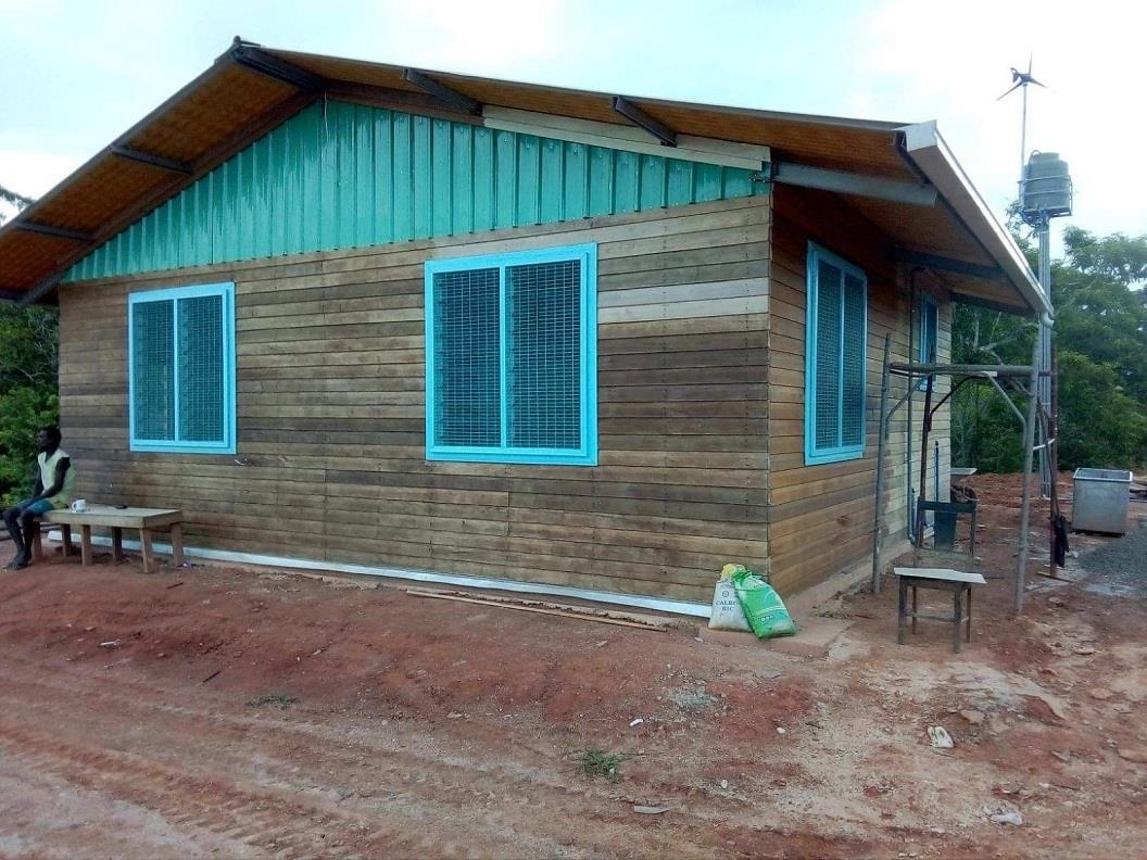 Ausbau einer Mini-Klinik auf den Solomon Islands