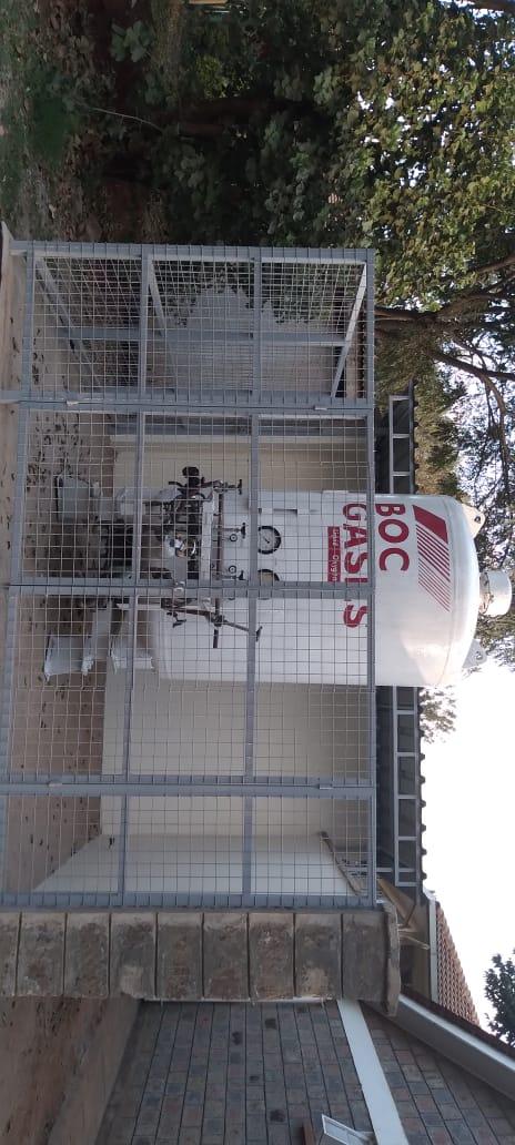 Sauerstoffversorgung von Covid-Patient:innen in Thika sichergestellt