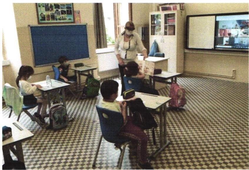 Schulunterricht in Corona-Zeiten – HDZ fördert Hygienekonzept der Evrim-Schule in Istanbul