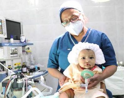 44 Kinderschicksale zum Guten gewendet – HDZ unterstützt erneut Operationen von Spaltkindern