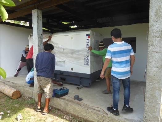 Finanzierung eines Generators für Mabuhay Clinic in Bugko