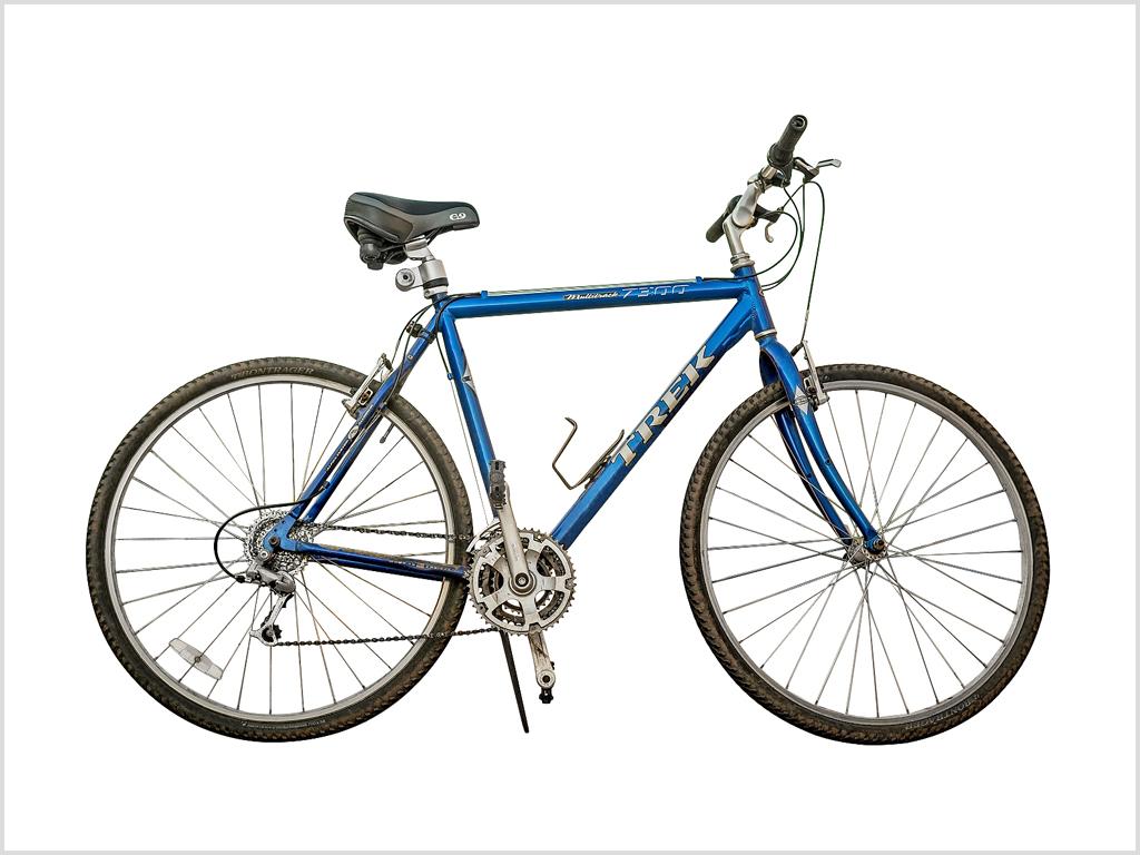 Détourage vélo Bicyclette